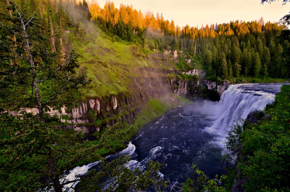 Upper Mesa Falls #1971*