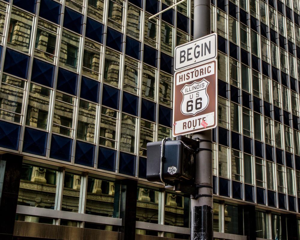 Route 66 Begins