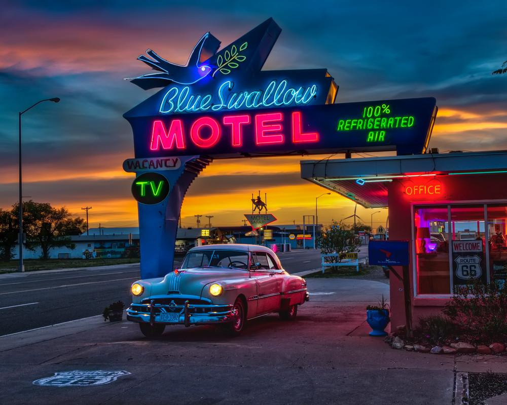 Blue Swallow Memories Photography Art | I am Rt 66