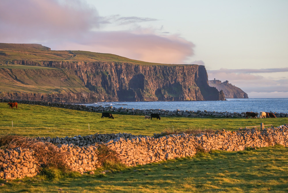 Cliffs of Moher from Doolin