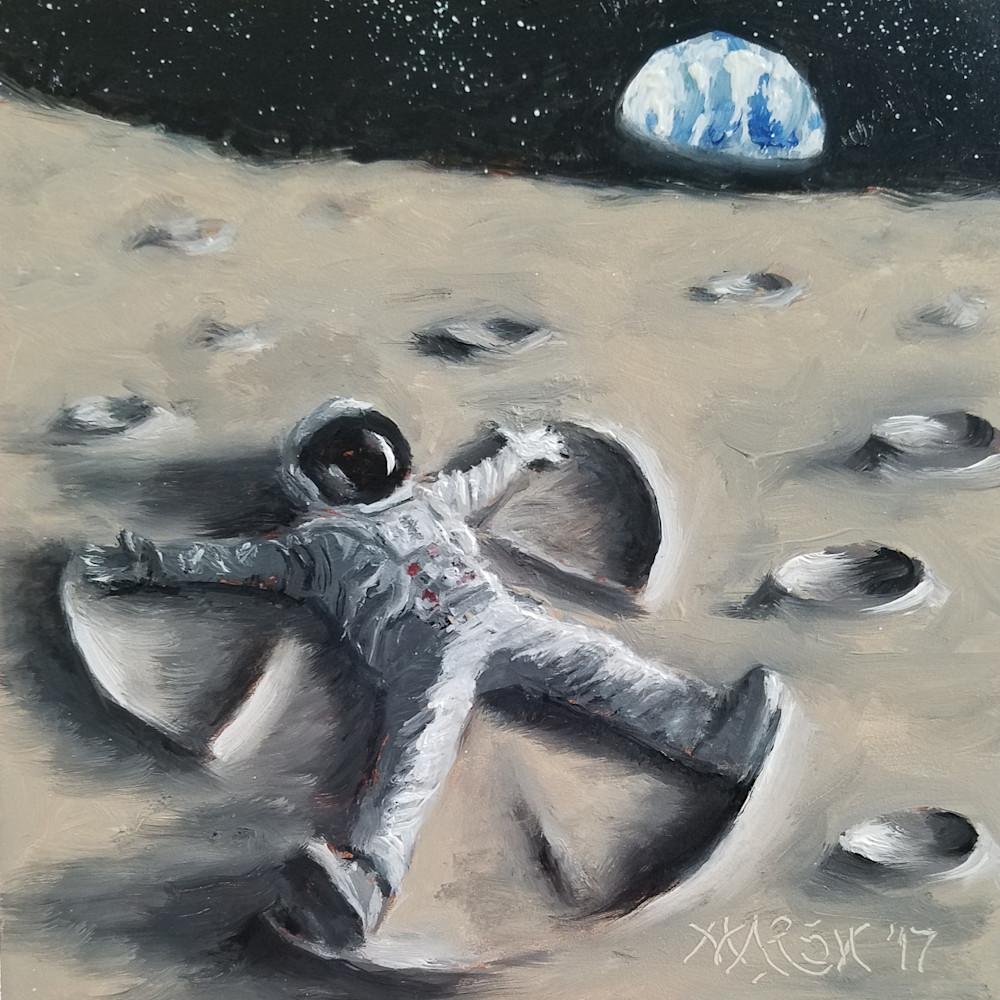 Moon Angel Fine Art Prints