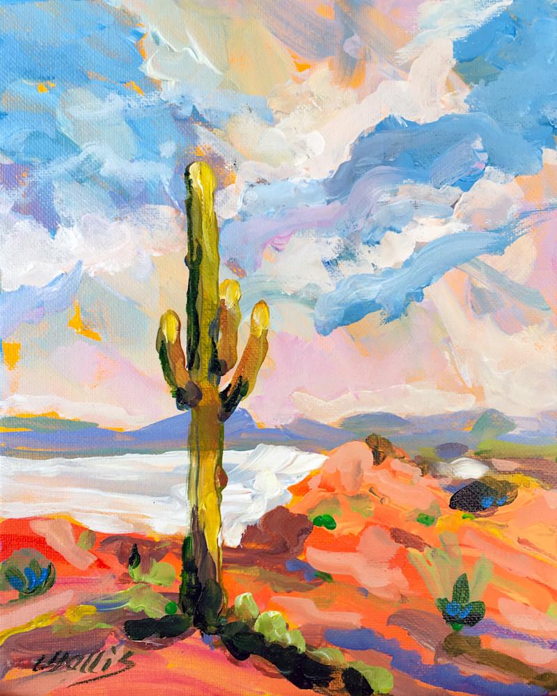 Majestic Saguaro Standing Tall