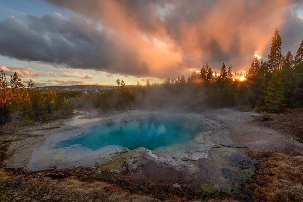 Emerald Springs Sunset