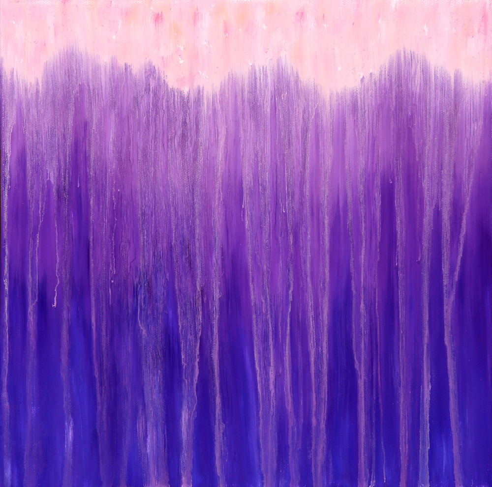 Mountains of Purple Rain II by Rachel Brask