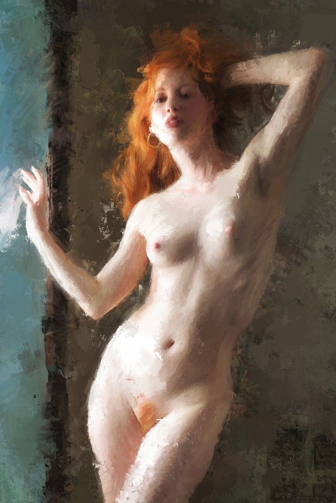 """Window Light"" by Eric Wallis."