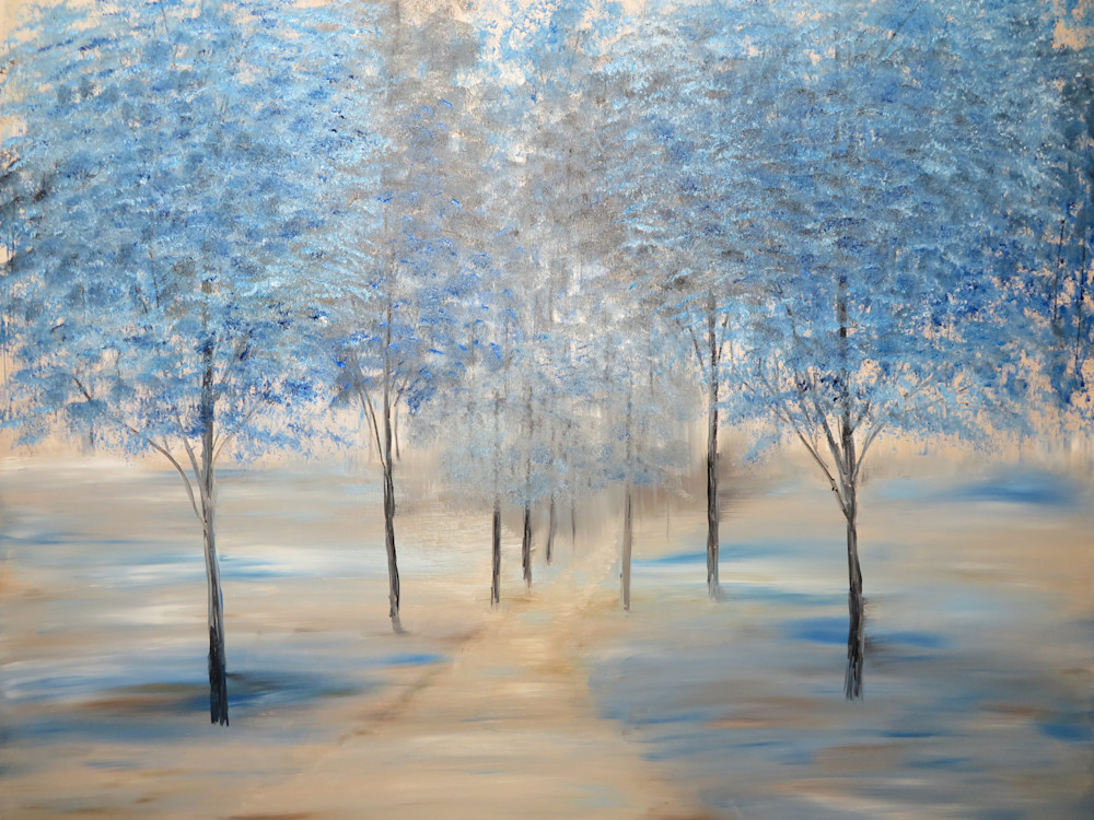 Reflections Of Blue Art | Artist Ron Turner