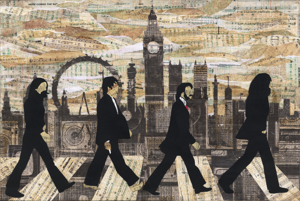Beatles abbey road here comes the sun icon legends music