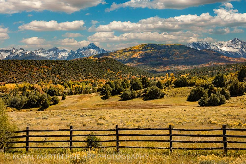 Ridgeway Mountains 9467 | Fall Colorado Photography | Koral Martin Fine Art Photography