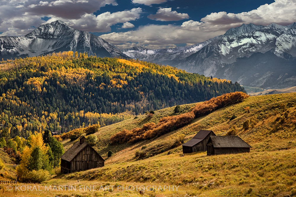 Golden Rule - Old Colorado School 4912 | Colorado Photography | Koral Martin Fine Art Photography