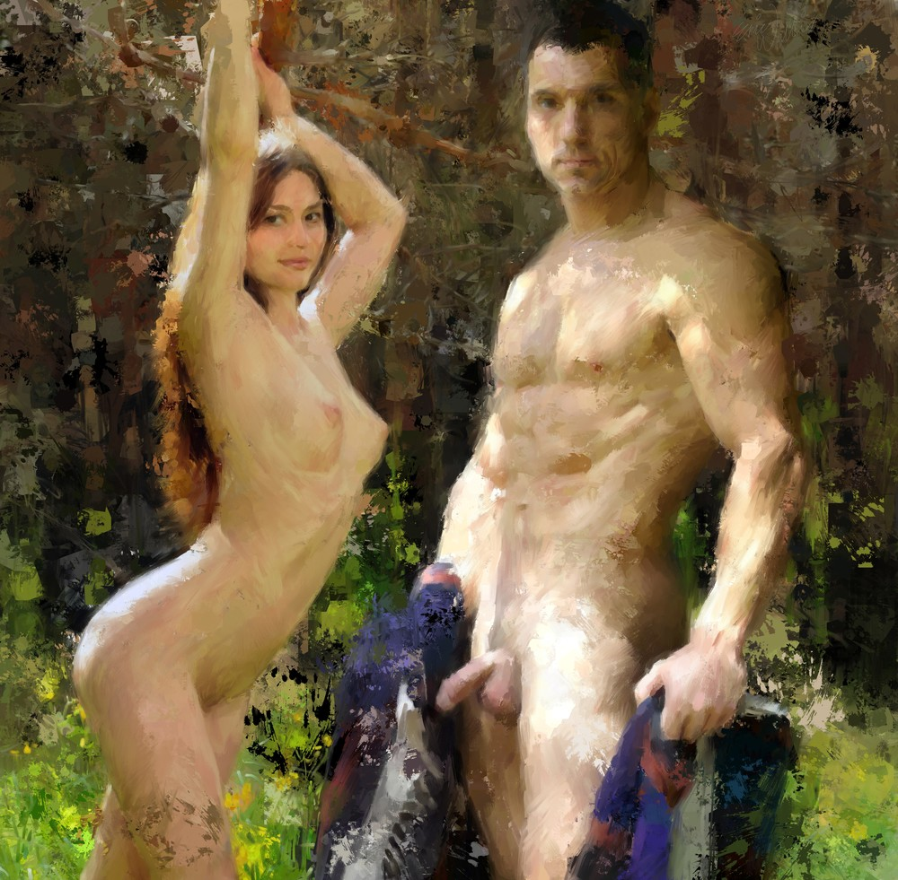 """Natural in Nature"" by Eric Wallis."