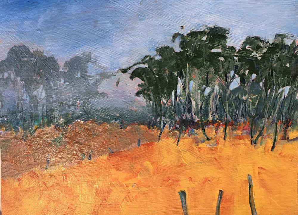 Big Sur Treeline 2 Art | PoroyArt