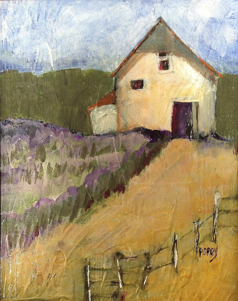 Lavender Homestead Art | PoroyArt