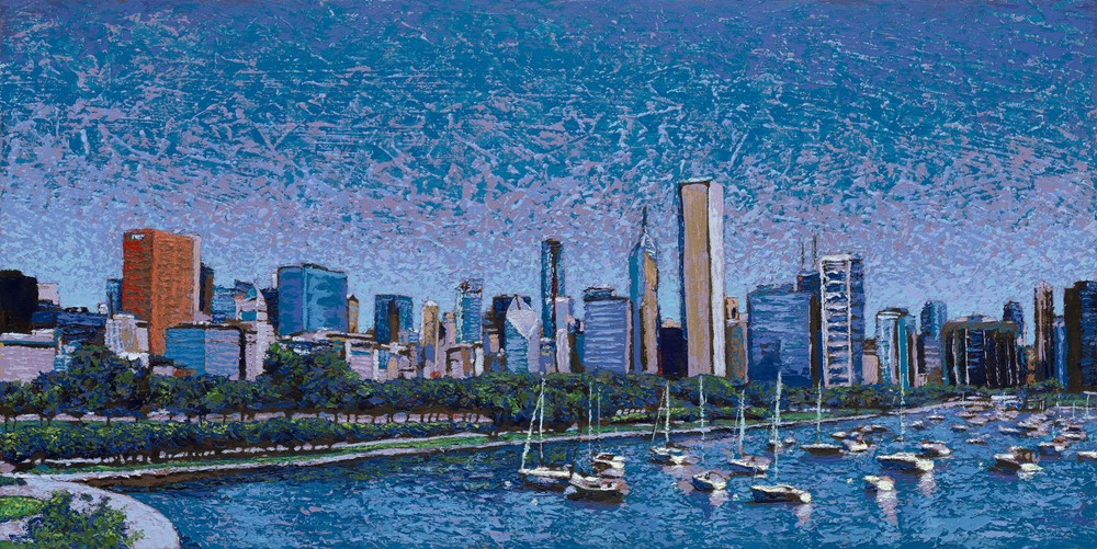 Sailing Into the City  |  Justin David Gustafson Fine Art
