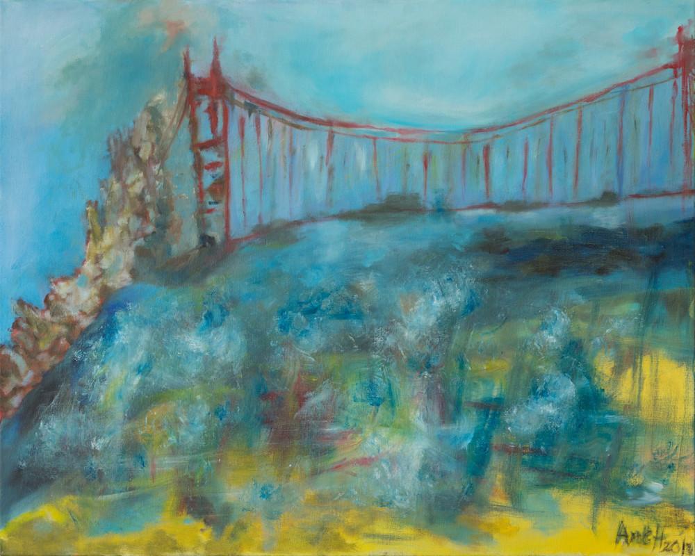 Angels visiting Golden Gate Bridge