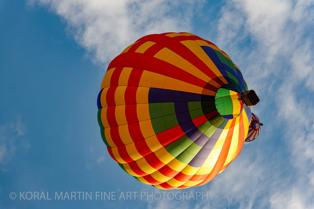 Albuquerque Balloon Fiesta Photograph 3320 | New Mexico Photography | Koral Martin Fine Art Photography