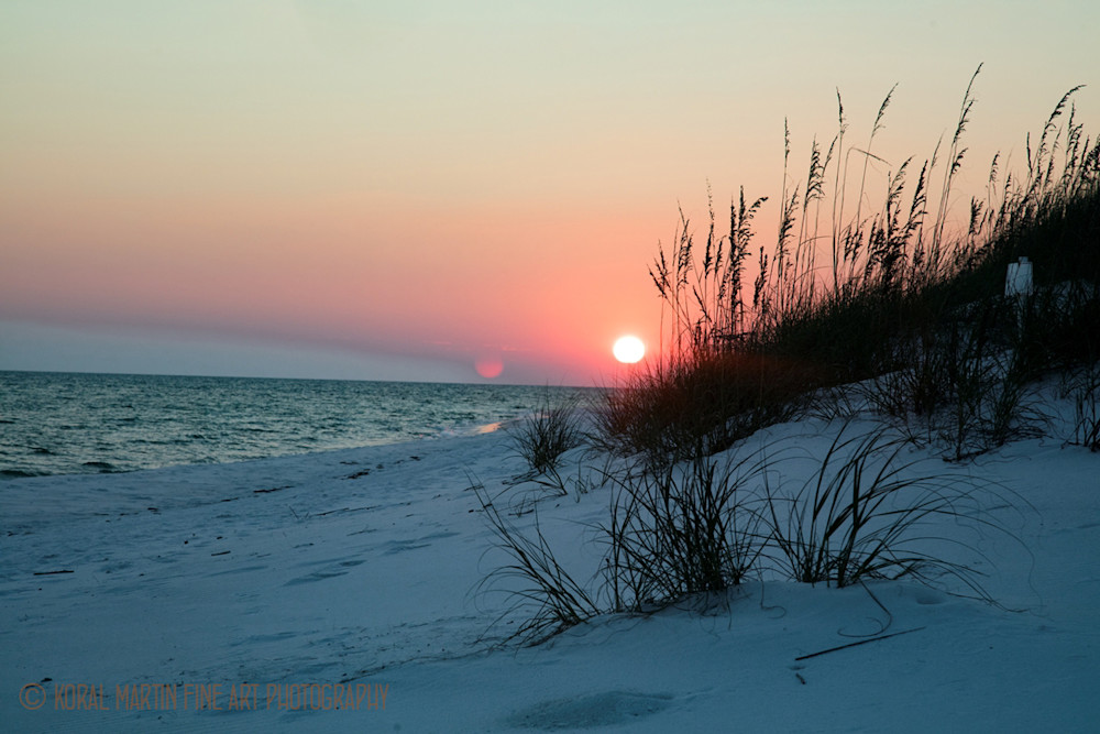 Ocean Sunset on Beach Photograph 1193 FL  | Florida Photography | Koral Martin Fine Art Photography