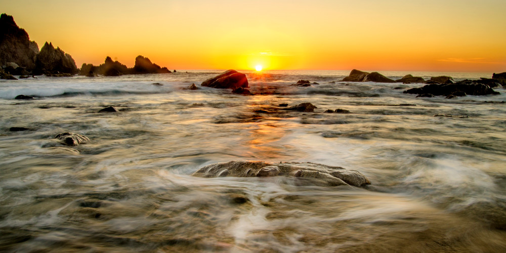 'Cabo Morning Mirage' Photograph by Nancy Miller for sale as Fine Art