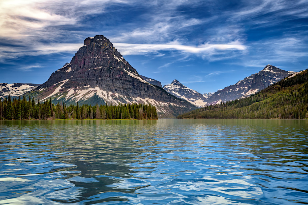 Two Medicine Lake by Rick Berk