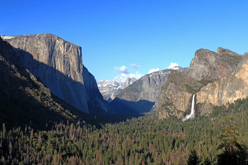 Tunnel View at 6:45 PM