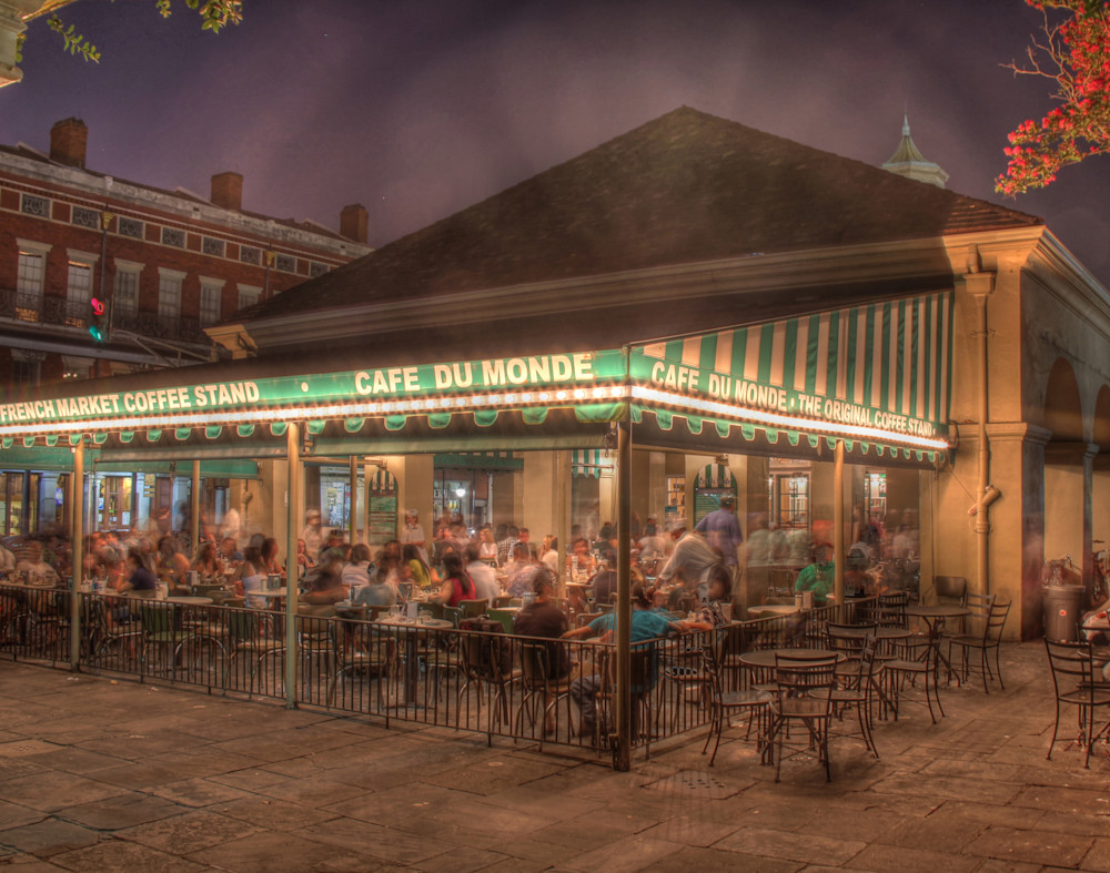 Cafe Du Monde By Steve Ellenburg