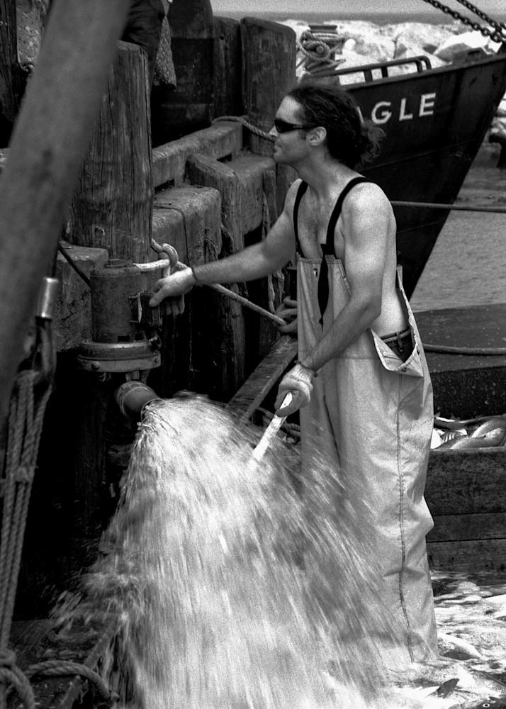 Jeff Adams Photography - PolaPan Series - RI Trap Boat - Flood Gate