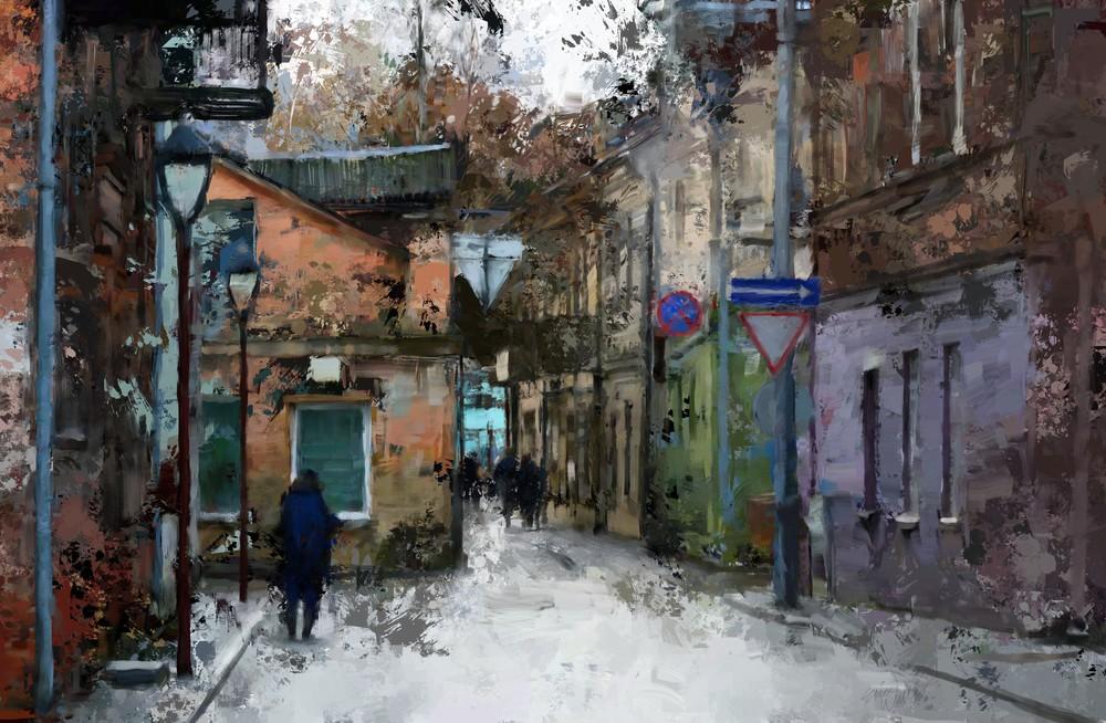 Side Street by Eric Wallis.