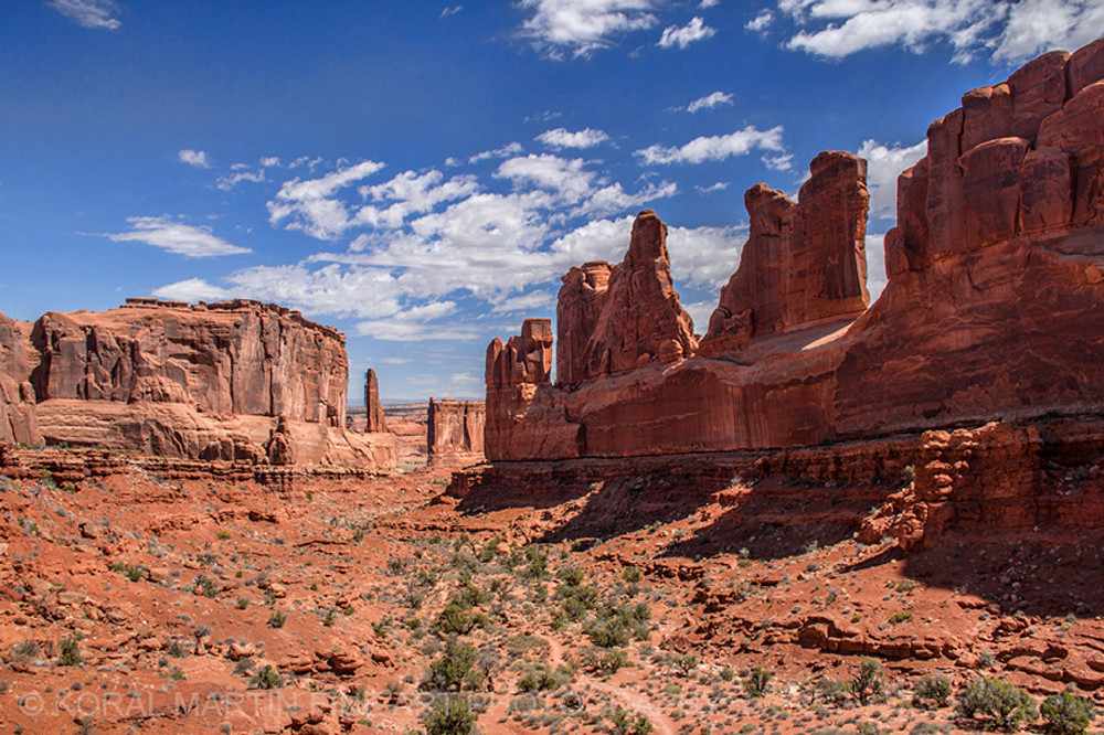 Arches View Photograph 6900    Utah Photography   Koral Martin Fine Art Photography