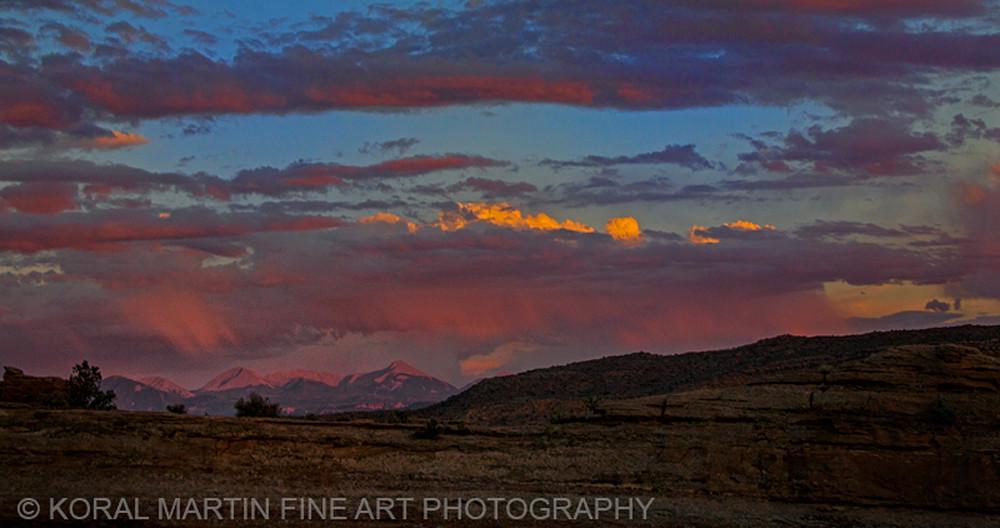 Arches Sunset Photograph 7400    Utah Photography   Koral Martin Fine Art Photography
