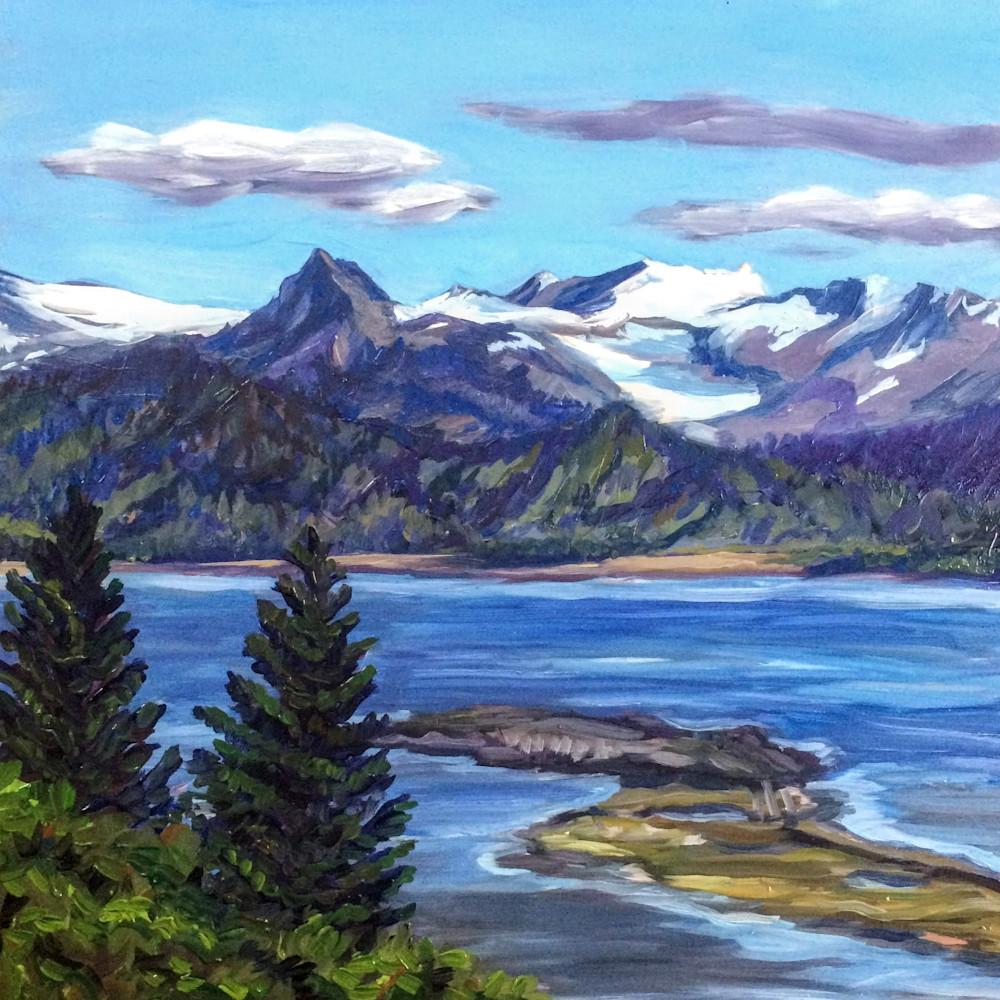 Homer, Summer At Last   Alaska Art Print Art | Amanda Faith Alaska Paintings