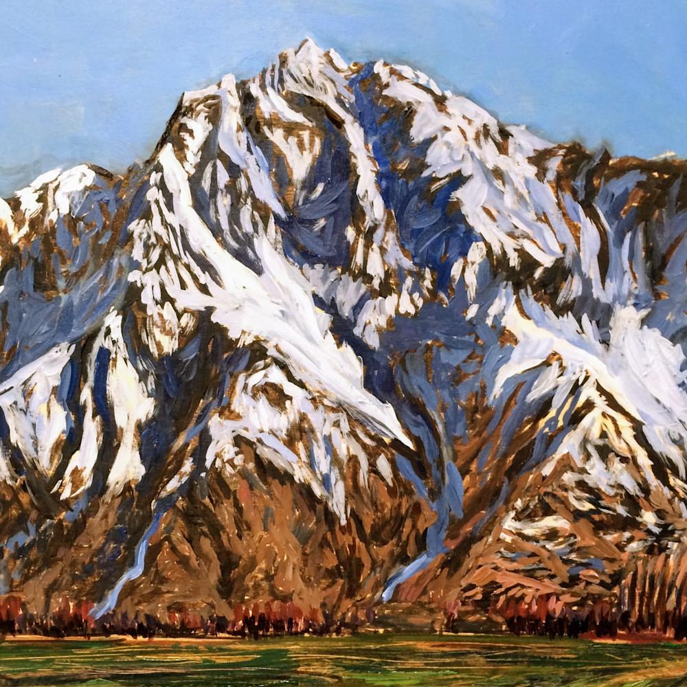Pioneer Peak   Alaska Art Print Art | Amanda Faith Alaska Paintings / Estuary Arts, LLC
