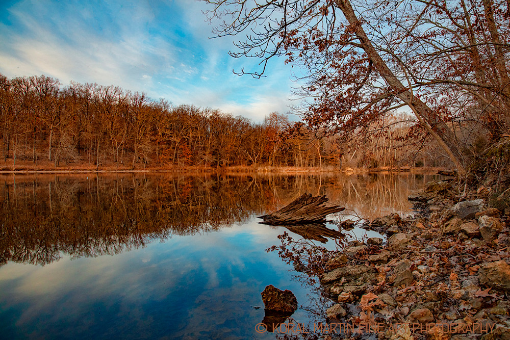 Lake Of The Ozarks Reflection Photograph 6148  | Missouri Photography | Koral Martin Fine Art Photography