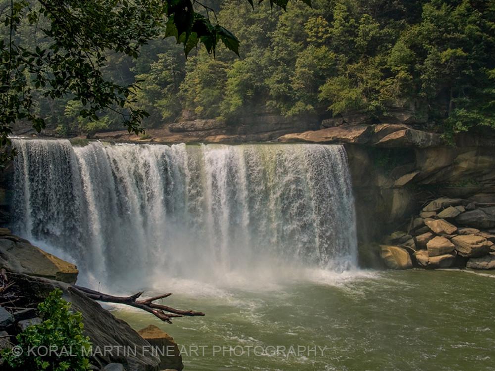Cumberland Falls Photograph 9499 Kentucky Photography Koral Martin Fine Art Photography