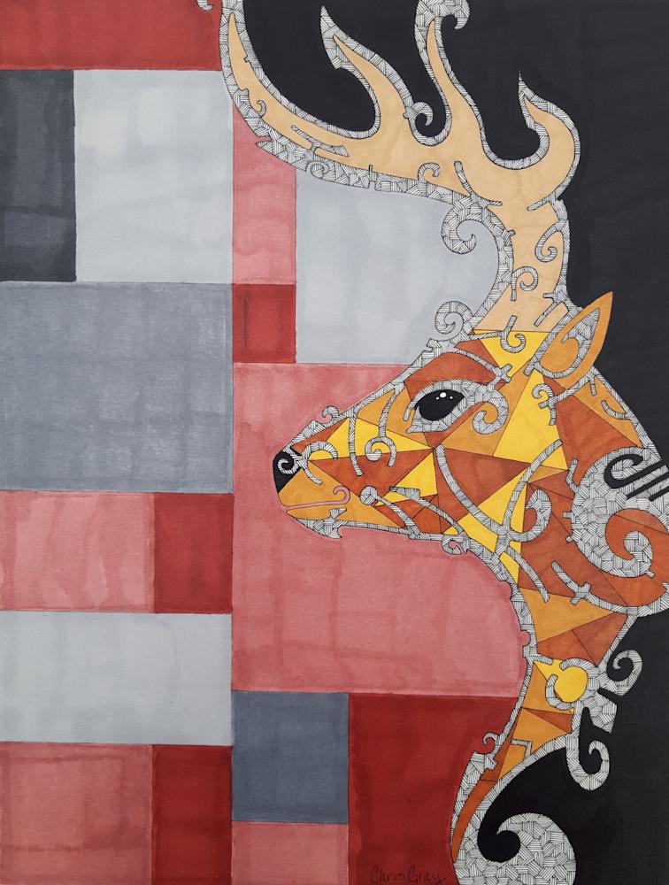Deer Art | Chris Gray Art