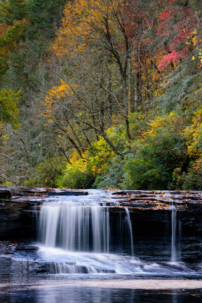 Hooker Falls, Nc Photography Art   Colin Hocking Photography