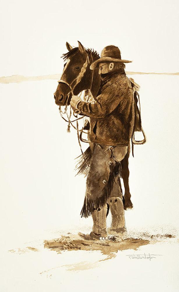 Raymond Wattenhofer Fine Art Print Wind, Rain & Snow