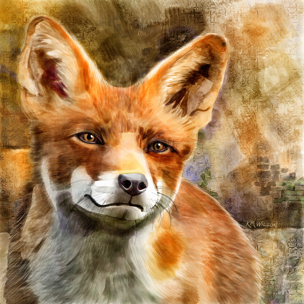 Scarlett The Fox Art | Pendragon Art Studios