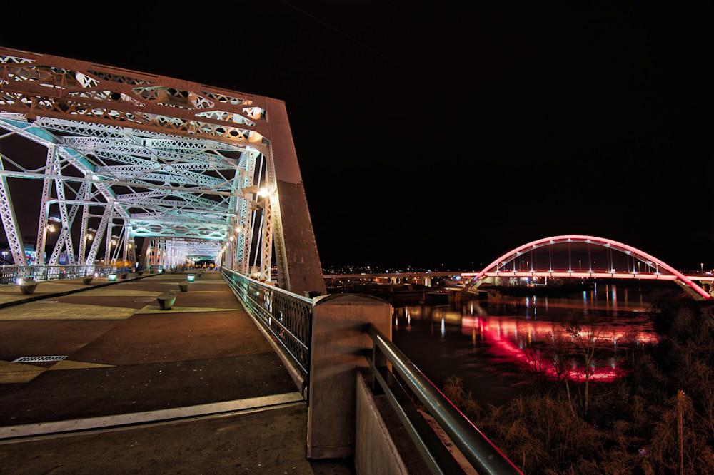 bridges-night