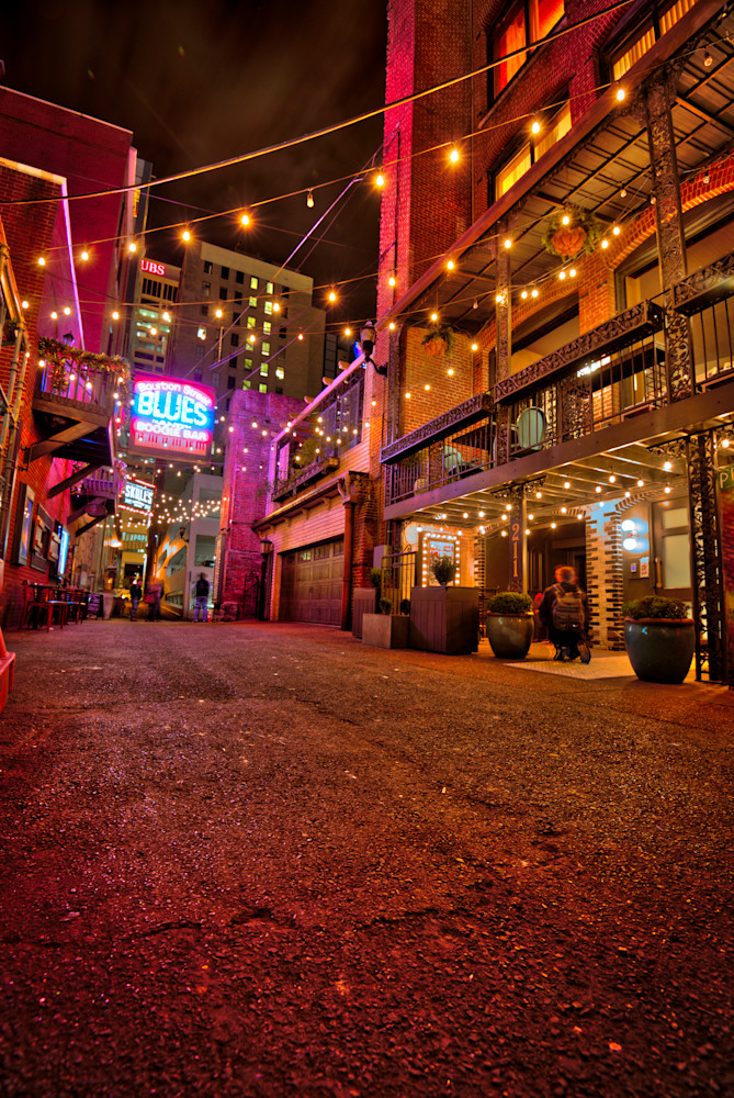 Printers Alley Night Art | Nashville Noted Photography