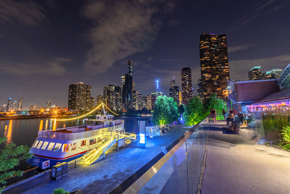 The View from Navy Pier - Chicago Fotos | William Drew Photography