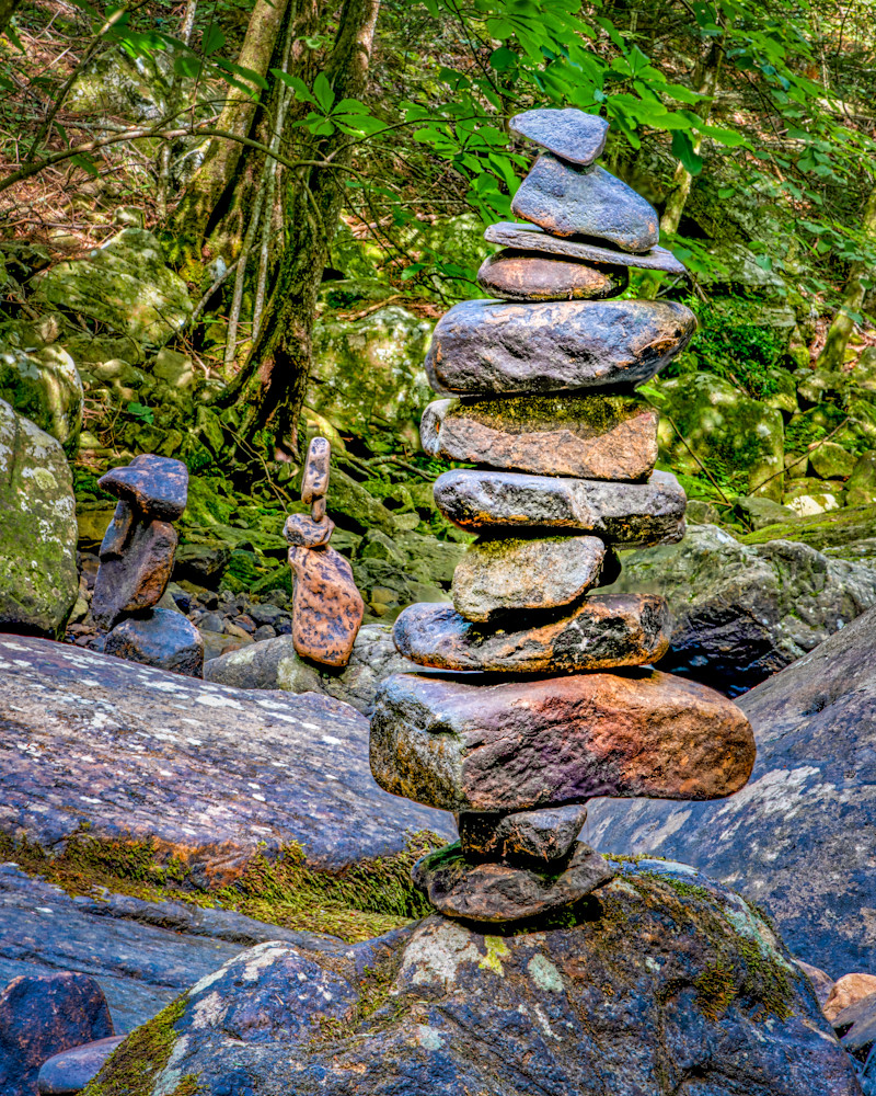 Totem to solitude Cloudland Canyon photography print