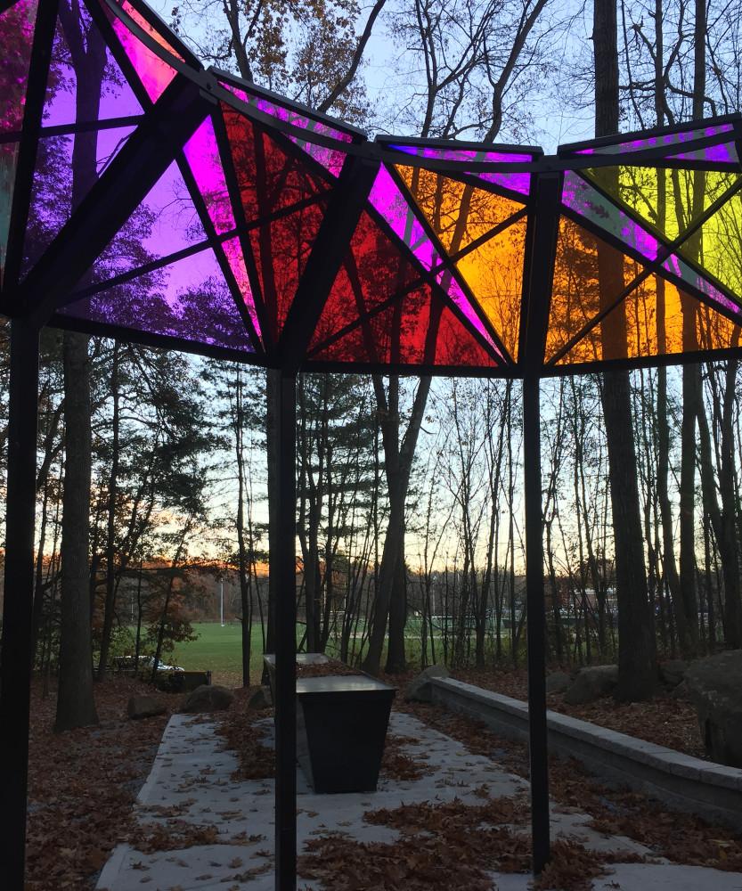 Ashland Memorial Healing Garden, Fall