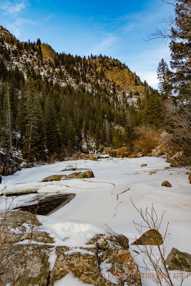 Cache La Poudre Canyon Scenic Drive Photograph 9331   Colorado Photography   Koral Martin Fine Art Photography