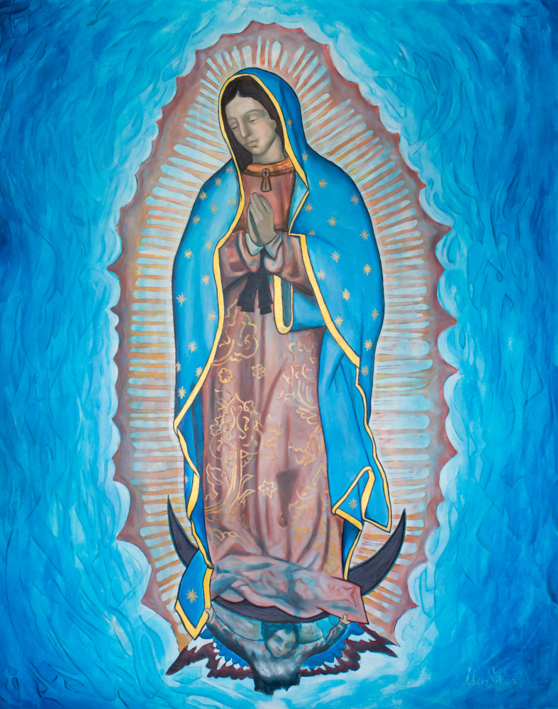 Our Lady Of Guadalupe Art | Adam Schwankl