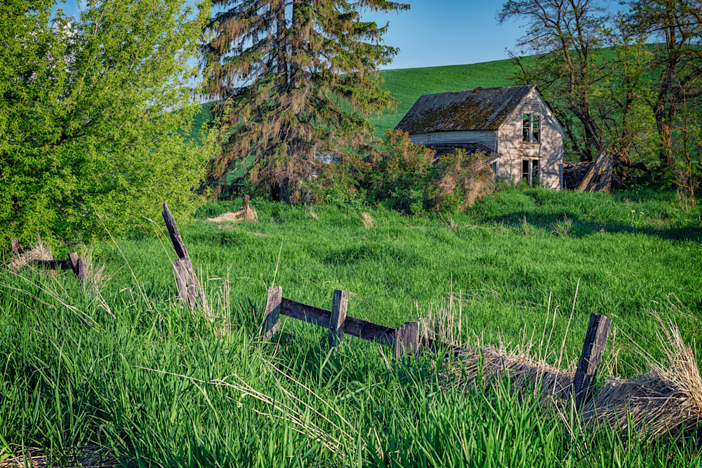 The Weathered Old House by Rick Berk