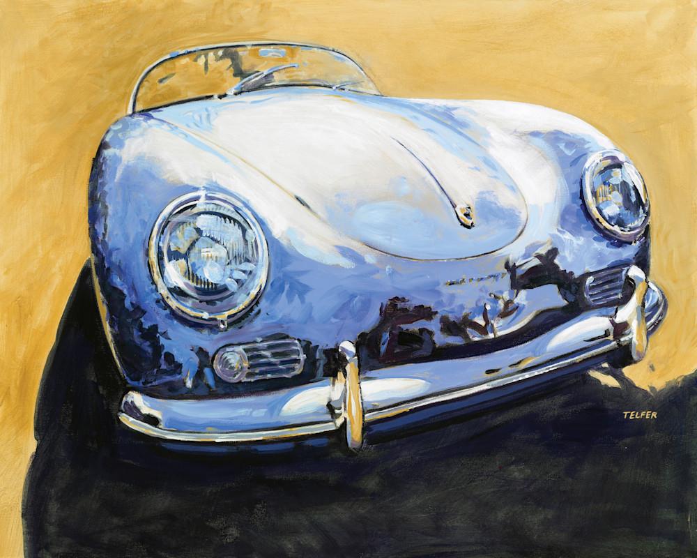Blue Speedster Porsche