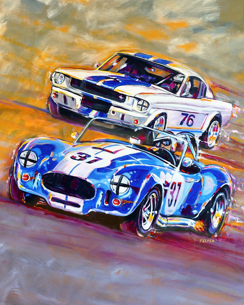 Two Shelbys Art   Telfer Design, Inc.