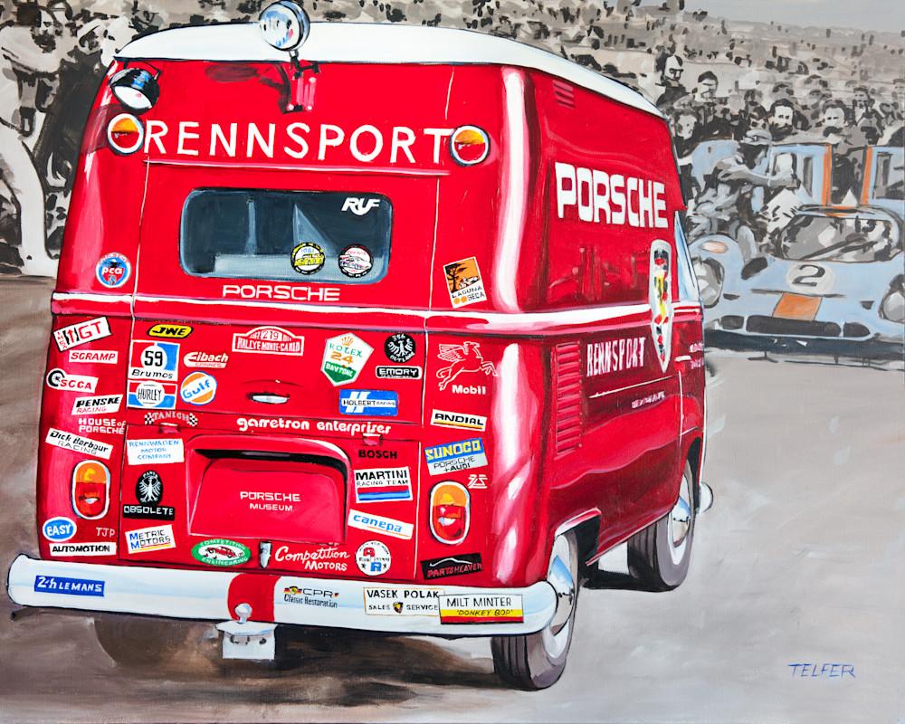 Porsche Rennsport Stickermania  Art | Telfer Design, Inc.