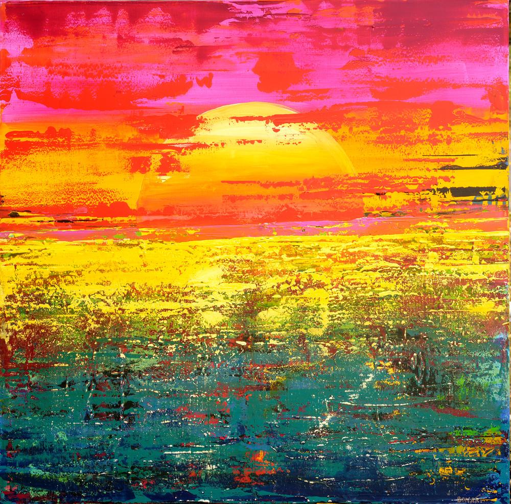 Sun Up Art | benbonart