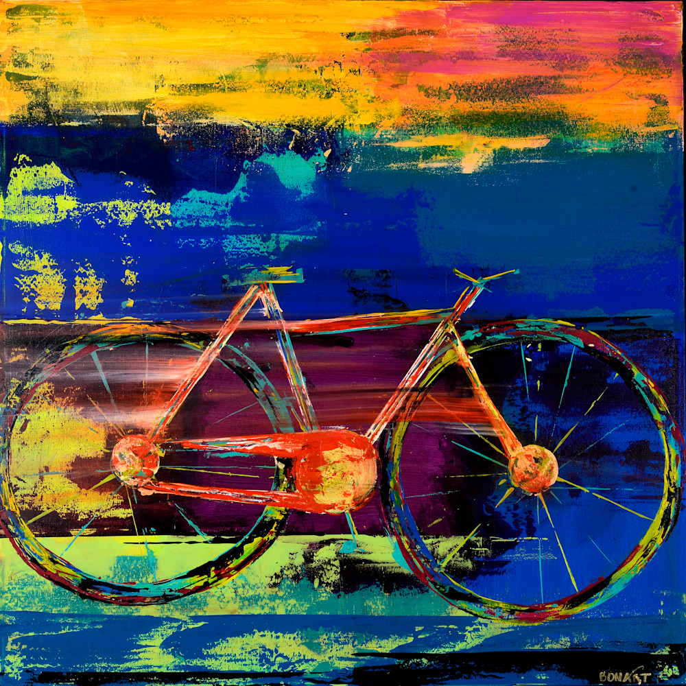 Bike Ride  Art | benbonart