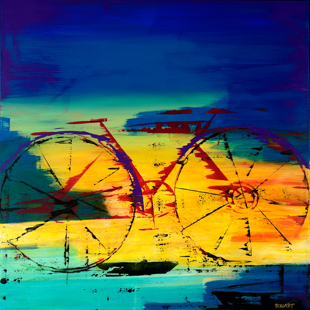 Cycling Art | benbonart